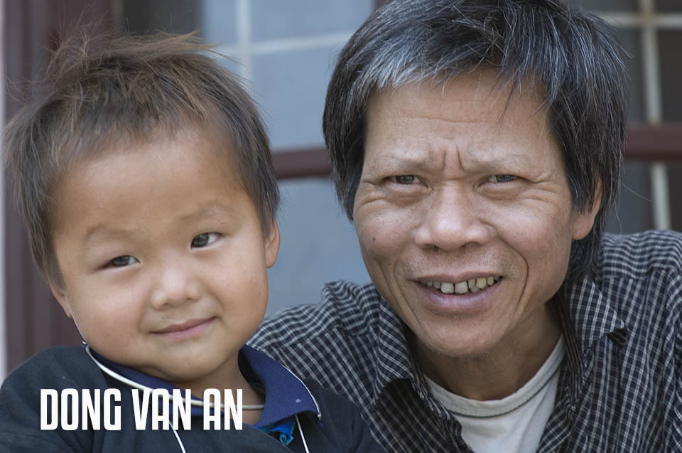 DONG VAN AN, directeur CII - Direct Support for Disabled Children